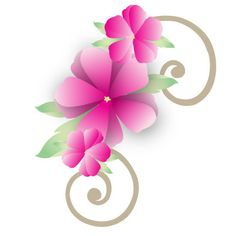 Floral clip art free download vector free library flower clip art free | hawaiian-flower-border-clip-art-5-hawaiian ... vector free library
