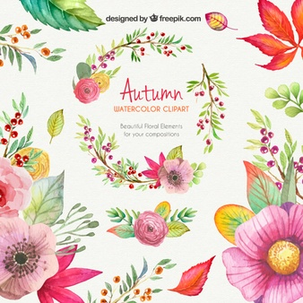 Floral clip art free download svg freeuse Flower Clipart Vectors, Photos and PSD files | Free Download svg freeuse