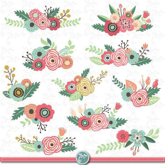 Floral clip art free download banner royalty free download Clipart flower free download - ClipartFox banner royalty free download