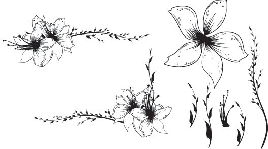 Floral clip art free download clip free download Free Floral Clip art Vector Free vector in Encapsulated PostScript ... clip free download