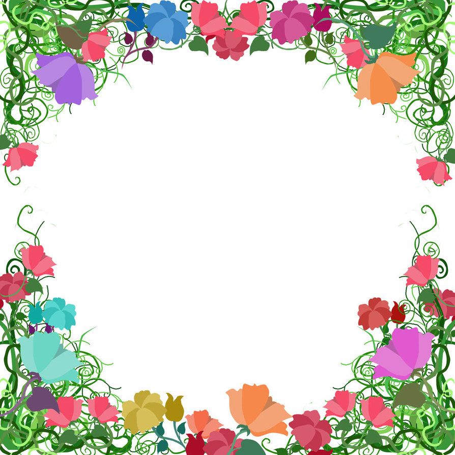 Floral clipart borders free clip free Free Free Printable Floral Borders And Frames, Download Free Clip ... clip free