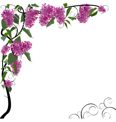 Floral clipart borders free clip art freeuse library Spring Clipart Borders | Free download best Spring Clipart Borders ... clip art freeuse library