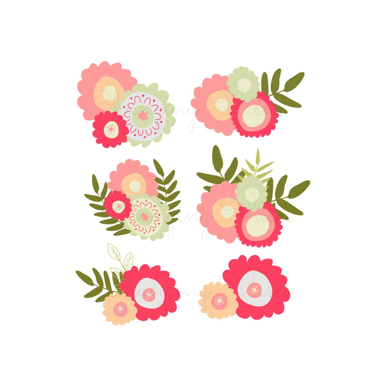 Floral clipart images clip freeuse download Free Floral Clip Art Pictures - Clipartix clip freeuse download