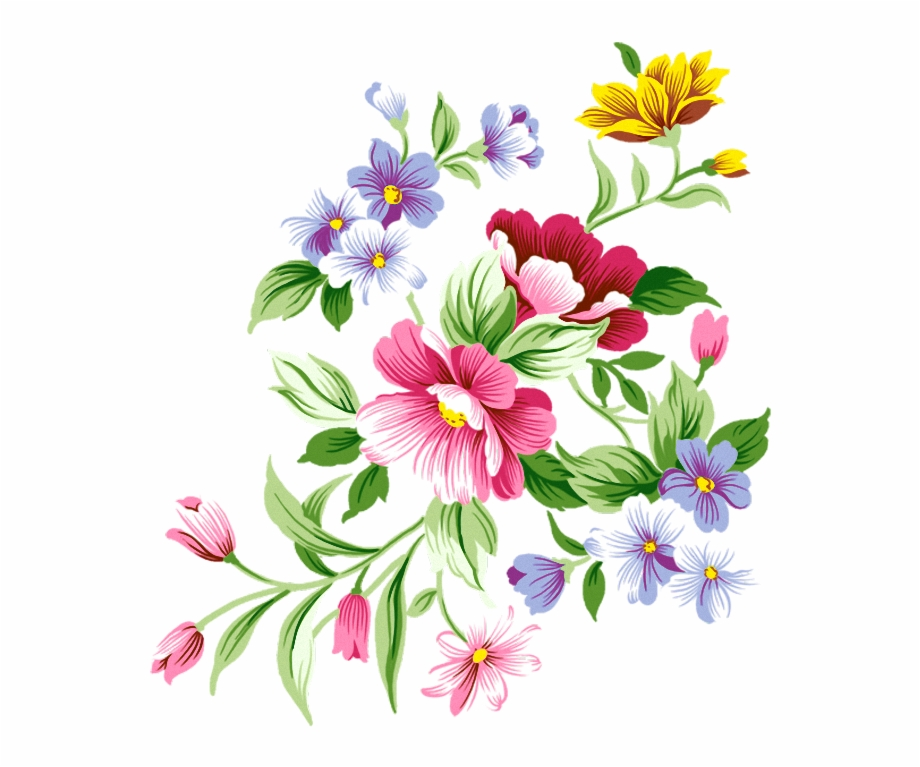 Floral decoration clipart. Flowers png pinterest flower