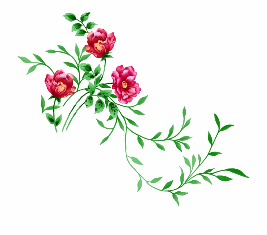 Flowers transparent clipart