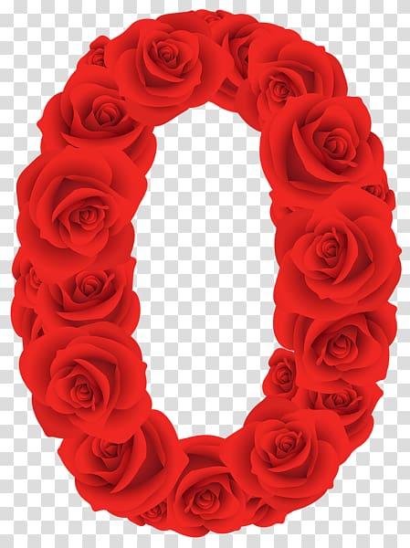 Floral designs of the number zero transluscent clipart svg transparent download Red rose frame, Red Roses Zero Number transparent background PNG ... svg transparent download