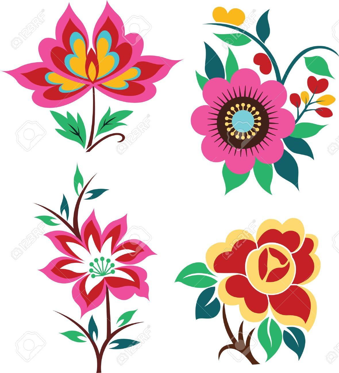 Floral graphic designs clip art freeuse download Graphic flower designs - ClipartFest clip art freeuse download