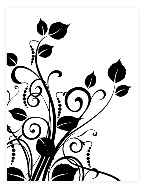Floral graphic designs vector transparent library Graphic flower designs - ClipartFest vector transparent library