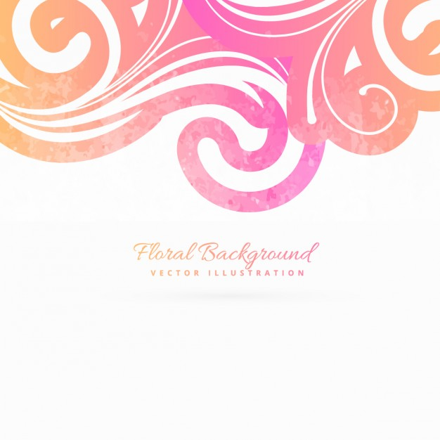 Floral images background graphic freeuse library Pink floral background Vector | Free Download graphic freeuse library