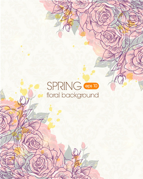 Floral images background vector Vector floral background free vector download (43,587 Free vector ... vector