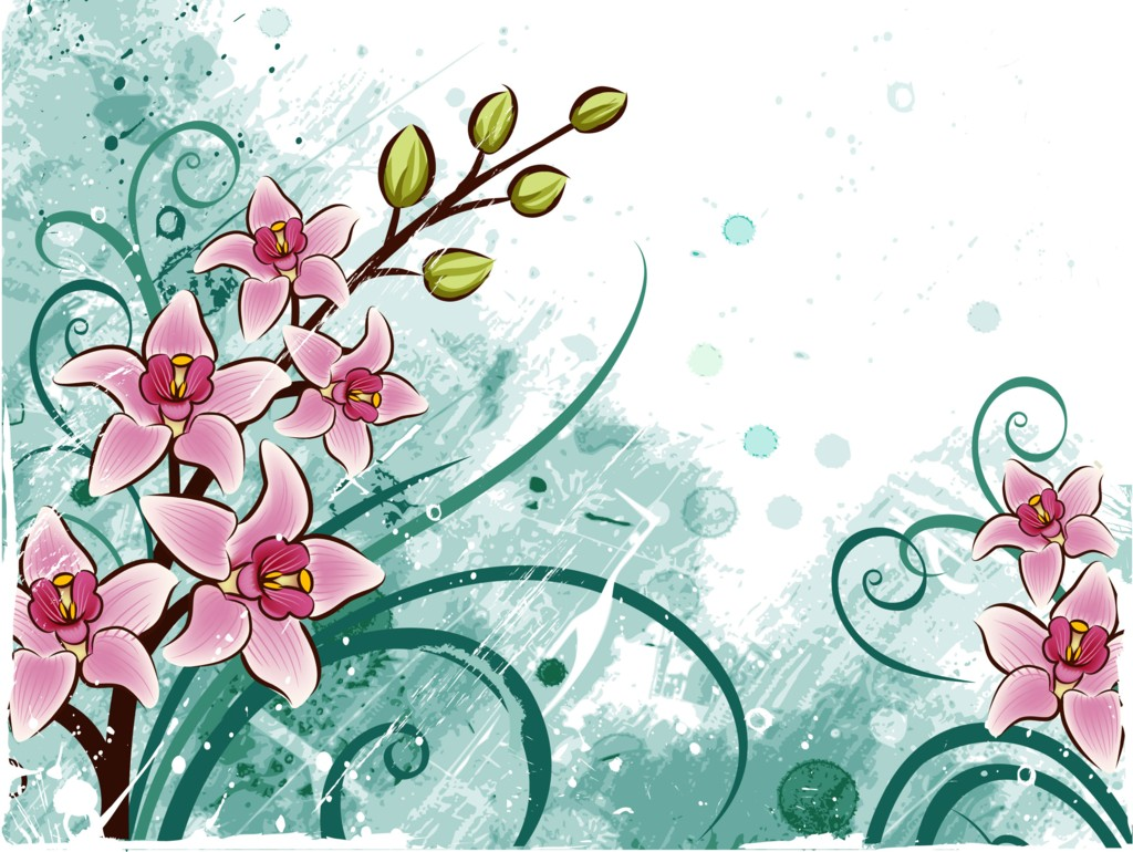 Floral images background clipart royalty free stock Flowers PPT Backgrounds Templates - Download Free Flowers ... clipart royalty free stock