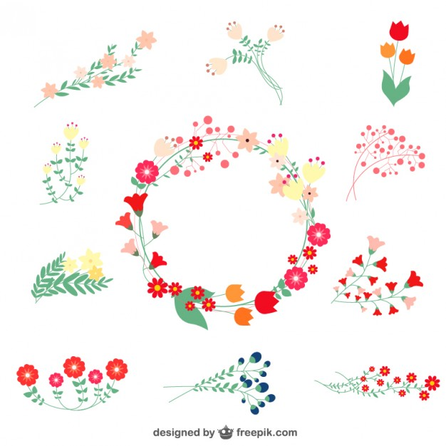 Floral images free clip art 300+ Free Stunning Backgrounds and Textures | Scarlet, Flower and ... clip art