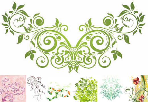 Floral images free vector library library Flowers | Vectorilla.com - Vector Images vector library library