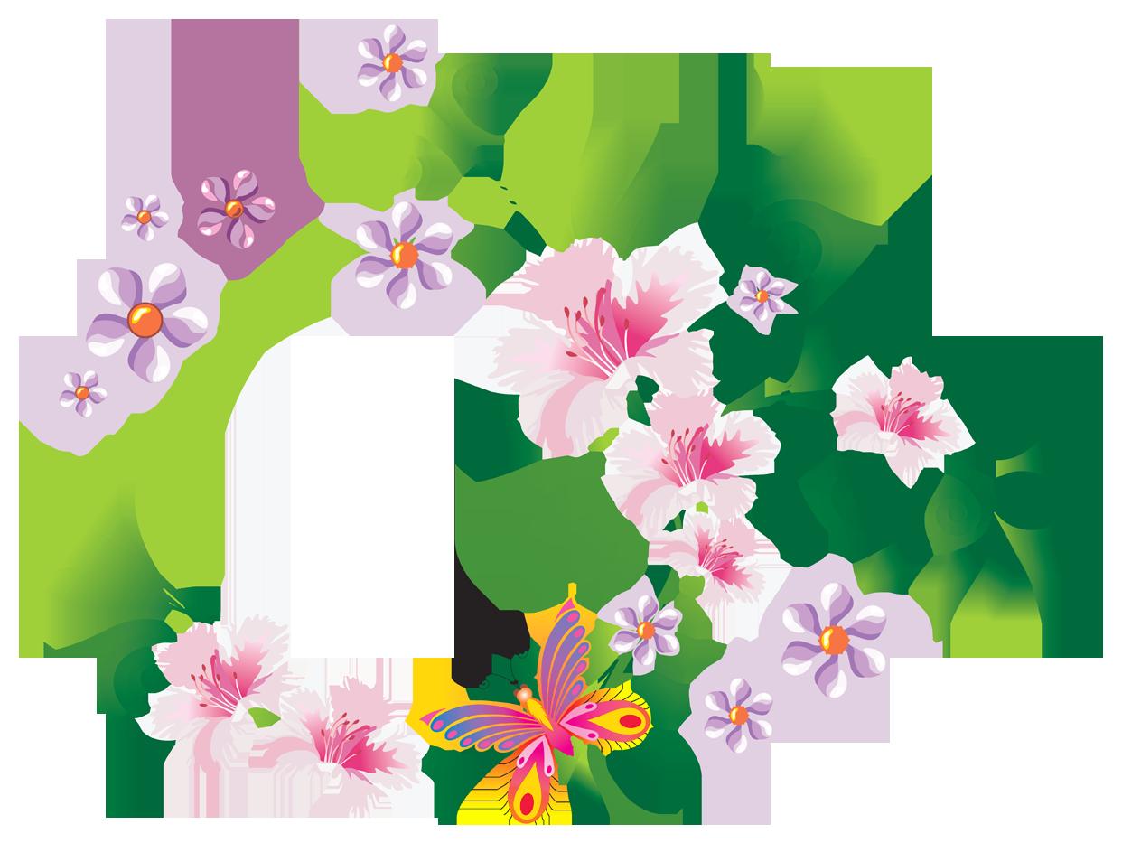 Floral images free download download Floral Decoration PNG Clip-Art Image   Gallery Yopriceville - High ... download