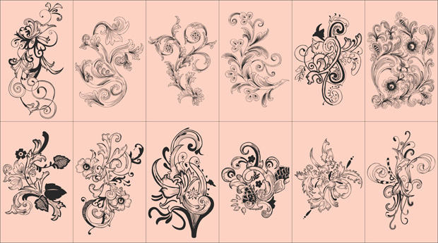 Floral images free download png library stock Flowers vector free download png library stock