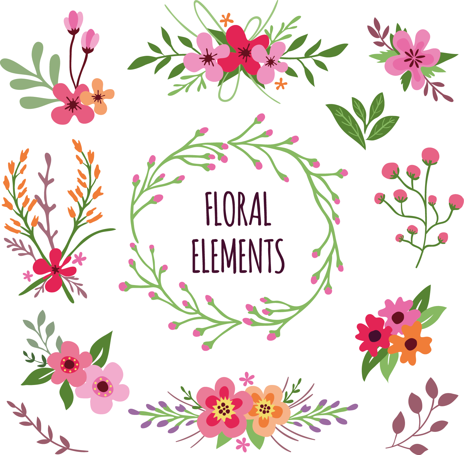 Free flower download banner royalty free Flower Download Clip art - Floral elements Free Download 1502*1475 ... banner royalty free