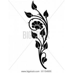 Floral motif clipart clip art royalty free download Floral Motif - Retro Clip Art | Clipart Panda - Free Clipart Images clip art royalty free download