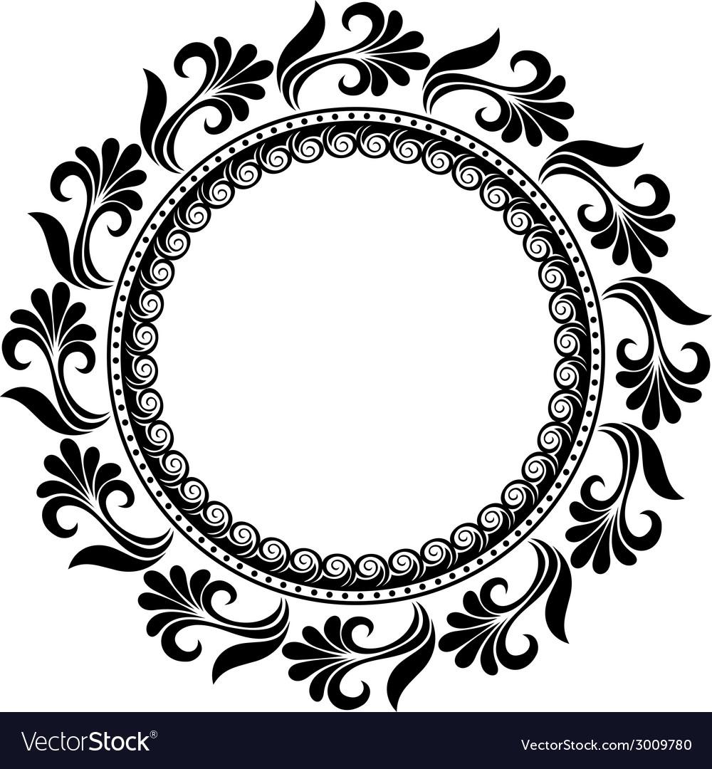 Floral motif clipart png freeuse download Beautiful Deco Floral Circle png freeuse download