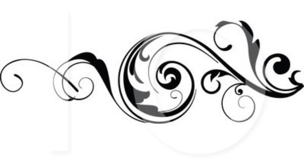 Designs images free download. Floral scroll clipart