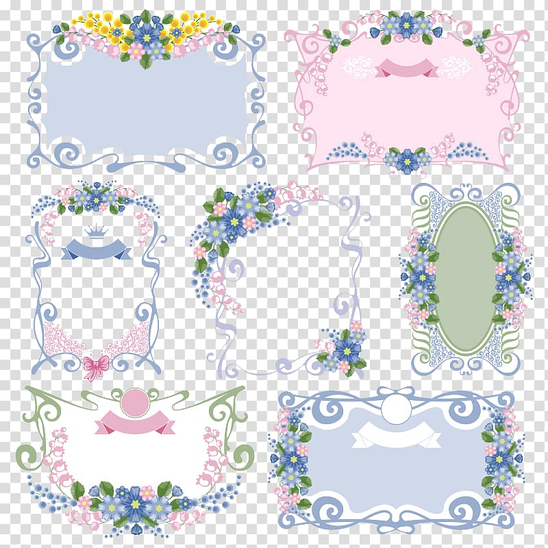 Floral templates clipart png stock Floral templates illustration, Flower frame Floral design Vintage ... png stock