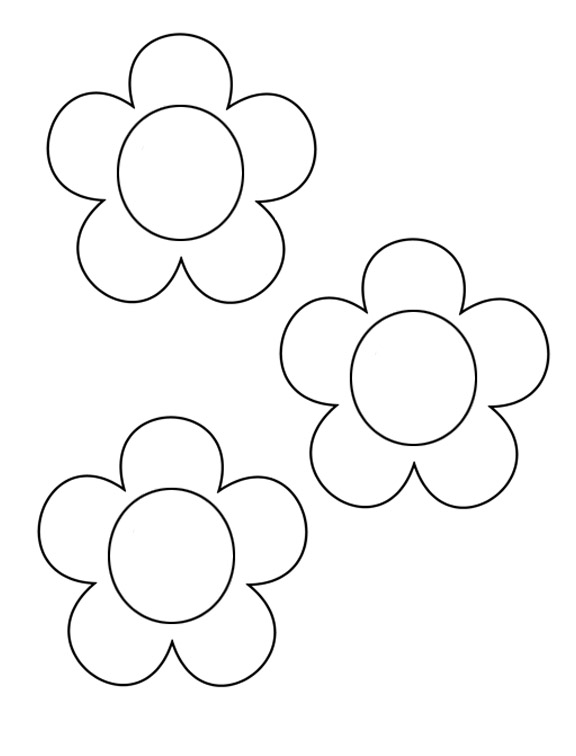Floral templates clipart clip royalty free stock Free Flower Template, Download Free Clip Art, Free Clip Art on ... clip royalty free stock