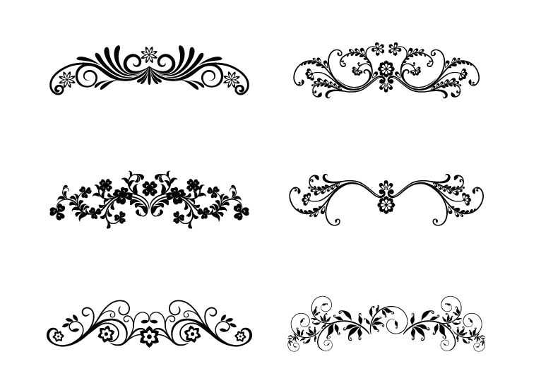 Floral vector clip art free download clip freeuse Floral Vector | Free Download Clip Art | Free Clip Art | on ... clip freeuse