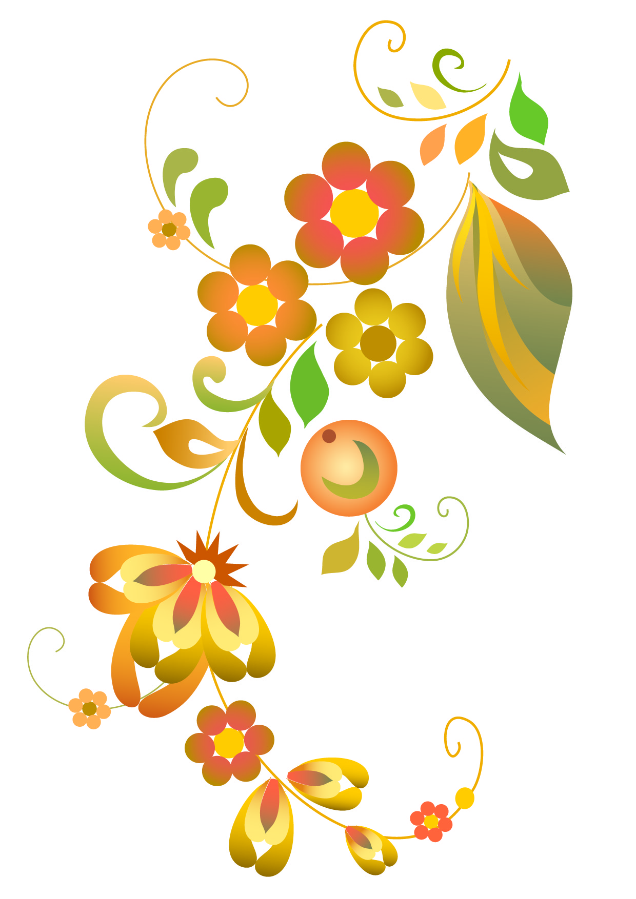Floral vector clip art free download png stock Free Vector Flowers | Free Download Clip Art | Free Clip Art | on ... png stock
