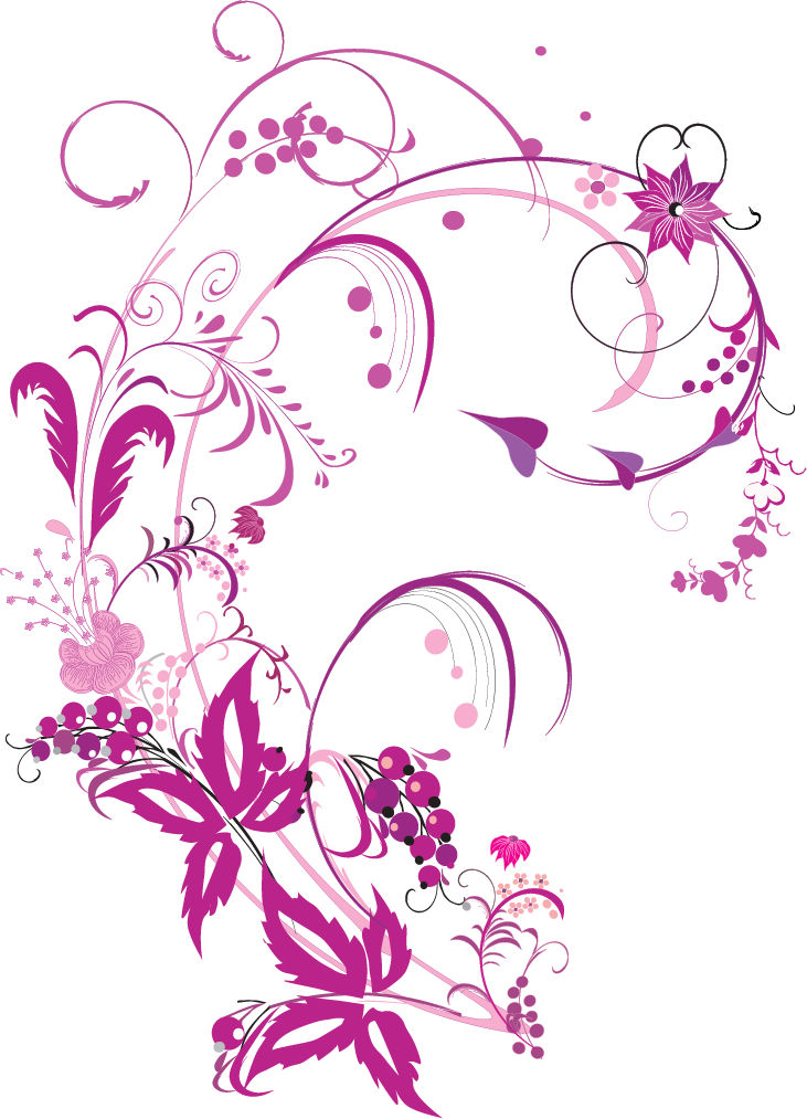 Floral vector clip art free download svg transparent library Floral Graphic | Free Download Clip Art | Free Clip Art | on ... svg transparent library