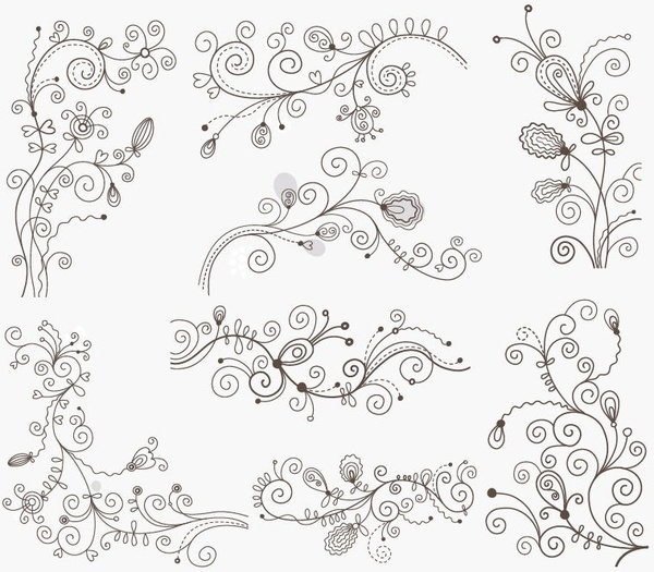 Floral vector clip art free download jpg library Floral free vector download (6,636 Free vector) for commercial use ... jpg library