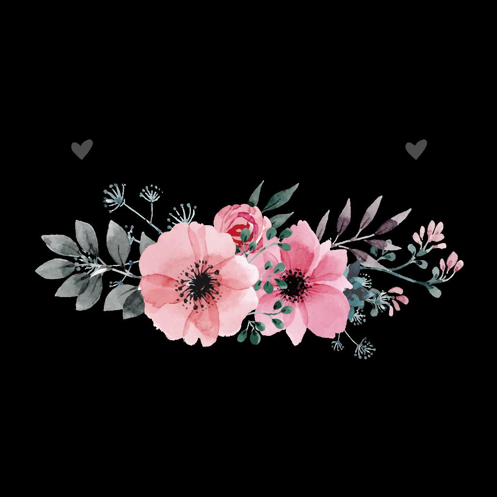Floran clipart. Flower flor flores floral