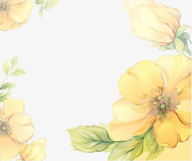 Flores amarelas clipart clip royalty free Yellow Flower Box, Flower Clipart, Yellow, Flowers PNG Transparent ... clip royalty free