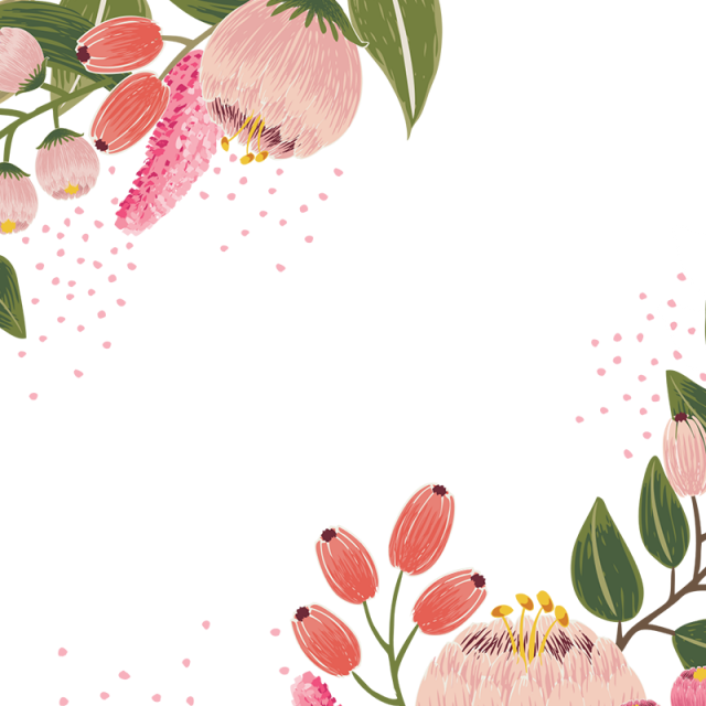 Flores clipart vector black and white stock Free flowers vector clipart images gallery for free download ... black and white stock