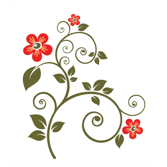 Flores clipart vector vector free Free Free Flower Vectors, Download Free Clip Art, Free Clip Art on ... vector free