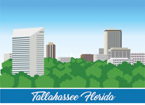 Florida city clipart