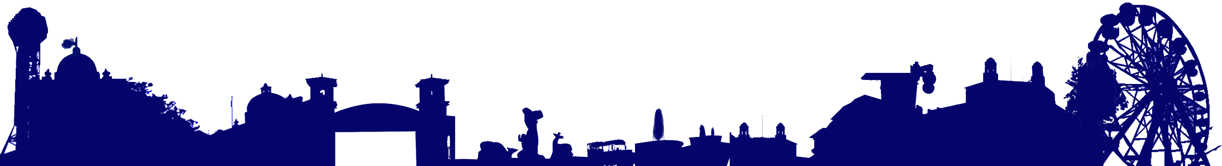 Florida city clipart svg library stock Skyline clipart skyline florida for free download and use images in ... svg library stock