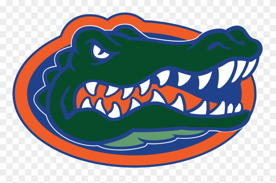 Florida gator pictures clipart clipart black and white download University Of Florida - Florida Gators Logo Transparent Clipart ... clipart black and white download