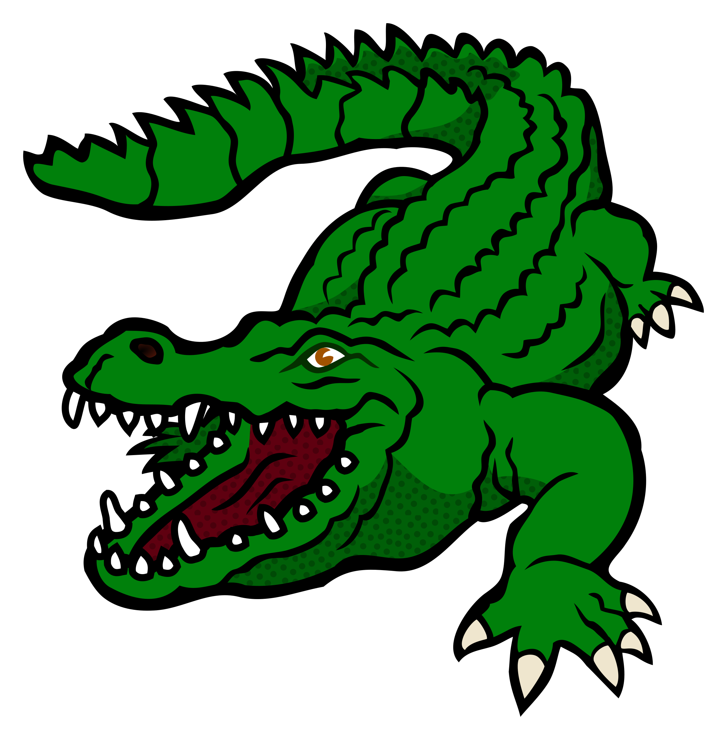 Florida gators football clipart free stock Gator Silhouette at GetDrawings.com | Free for personal use Gator ... stock