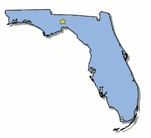 Florida state map clipart picture black and white Miami florida map clipart - ClipartFest picture black and white