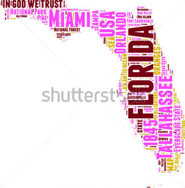 Florida state map clipart clipart freeuse library Usa map state of florida clipart - ClipartFest clipart freeuse library