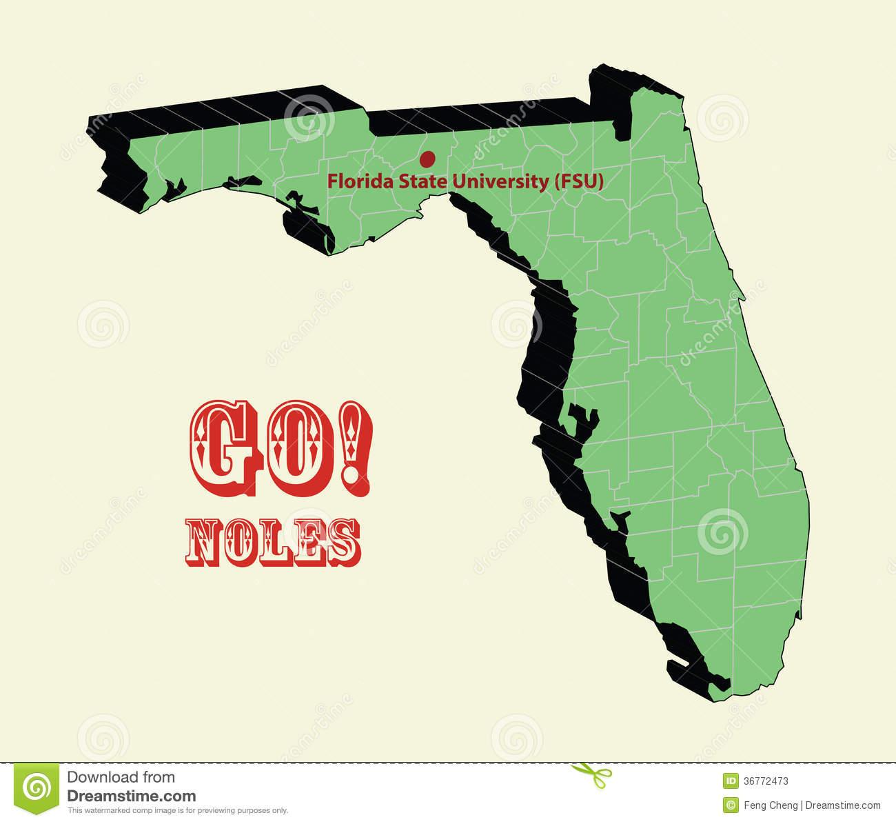 Florida state map clipart svg transparent Florida state university clipart - ClipartFest svg transparent