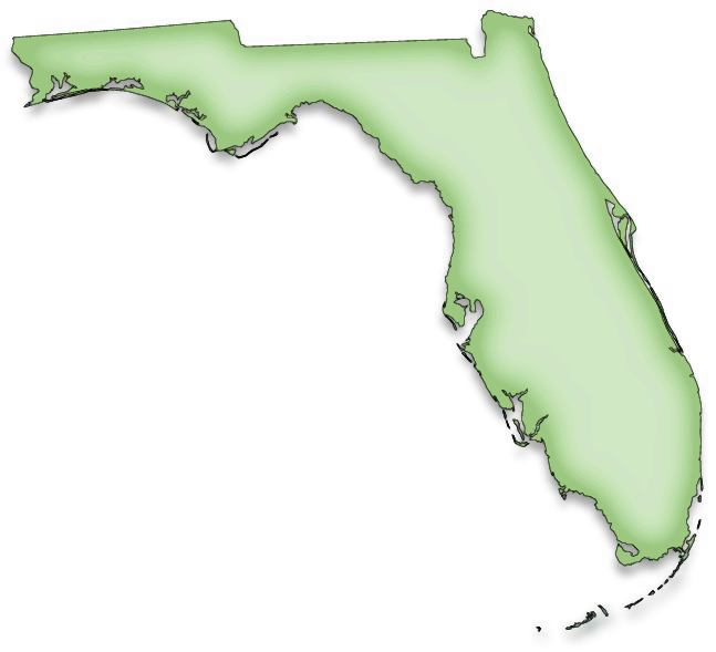Florida state map clipart png royalty free library Florida State Pink Clipart - Clipart Kid png royalty free library
