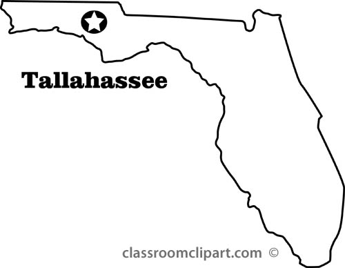 Florida state map clipart picture royalty free Florida state map clipart - ClipartFest picture royalty free