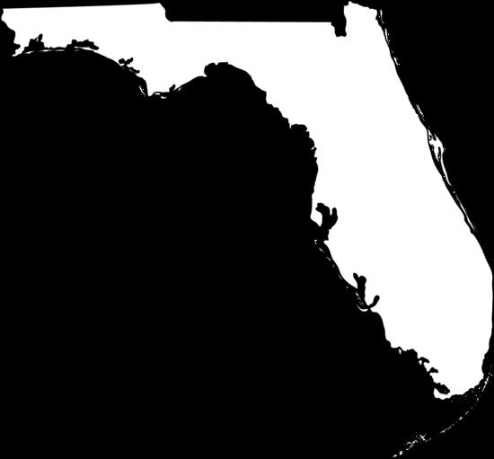 Florida state map clipart clipart transparent stock Florida images clip art - ClipartFest clipart transparent stock
