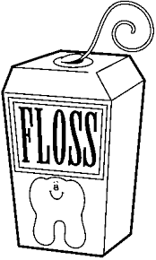 Floss clipart in teeth black and white banner freeuse stock Free Dental Floss Cliparts, Download Free Clip Art, Free Clip Art on ... banner freeuse stock