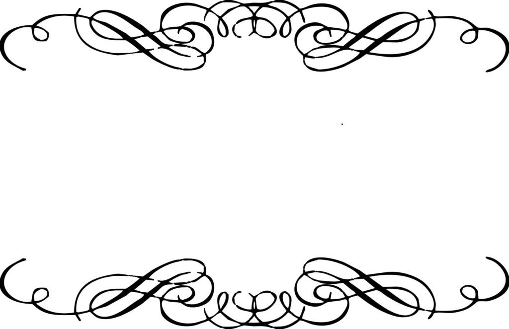Flourish clipart free banner free library Free Flourishes Clipart | boarders | Clip art, Free clipart images ... banner free library