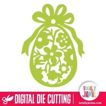 Flourish easter egg clipart svg freeuse Easter Egg Floral Flourish Lace – TotallyJamie: SVG Die Cutting ... svg freeuse
