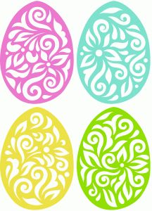 Flourish easter egg clipart svg transparent download I think I'm in love with this shape from the Silhouette Online ... svg transparent download