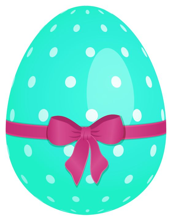 Flourish easter egg clipart clip art transparent library Sky Blue Easter Egg with Green Bow PNG Clipart | Easter (Eggs ... clip art transparent library