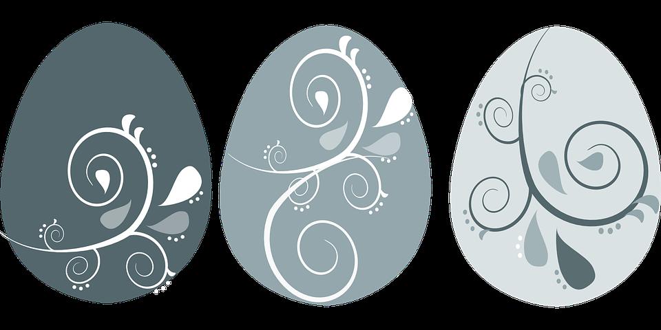 Flourish easter egg clipart clip transparent stock Free vector graphic: Easter, Eggs, Flourish, Swirls - Free Image ... clip transparent stock