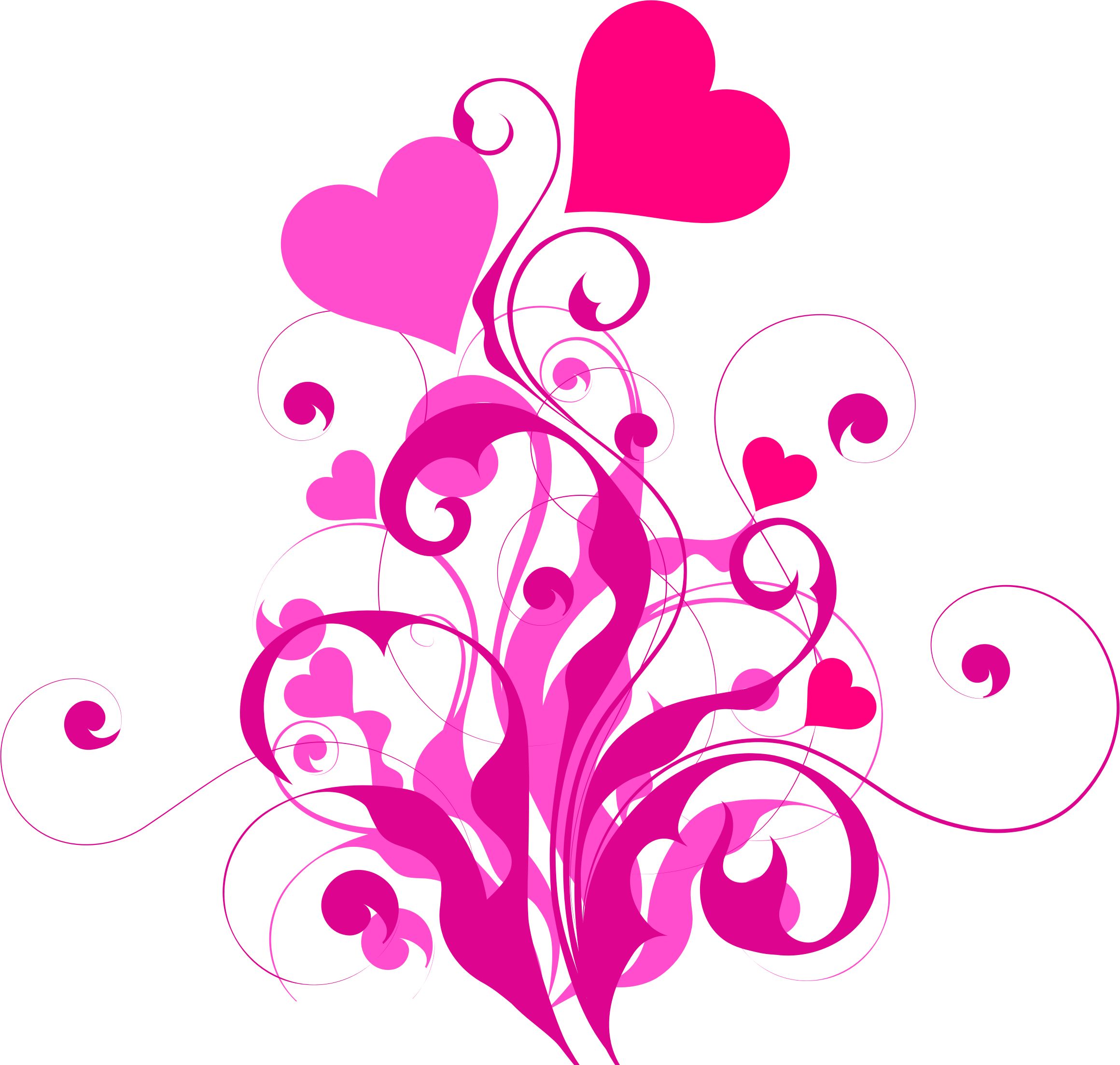 Flourish heart clipart jpg freeuse library Clipart - Heart Flourish jpg freeuse library